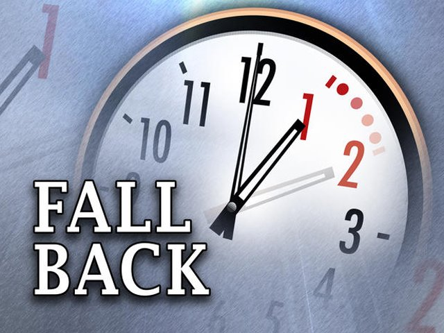 This Saturday night, Daylight Savings Time ends. Don't forget to change the